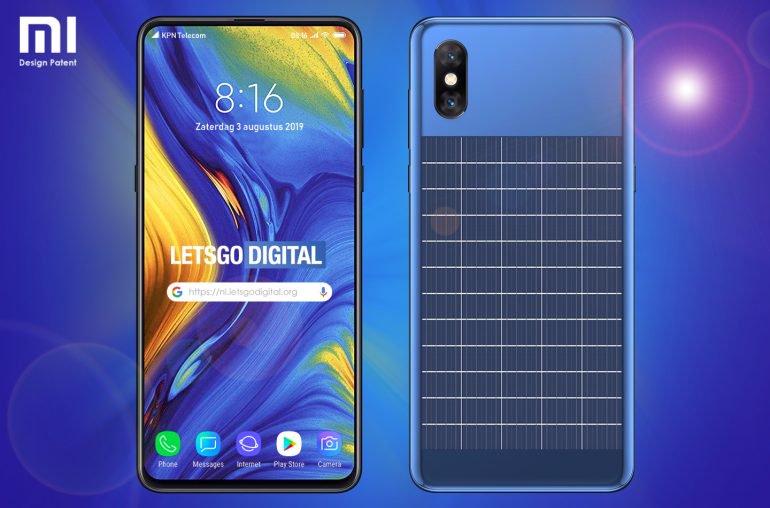 ستعمل Xiaomi على هاتف ذكي مشحون بالطاقة الشمسية 2