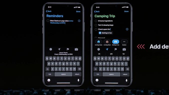 وضع الظلام ، iPadOS والملفات 8