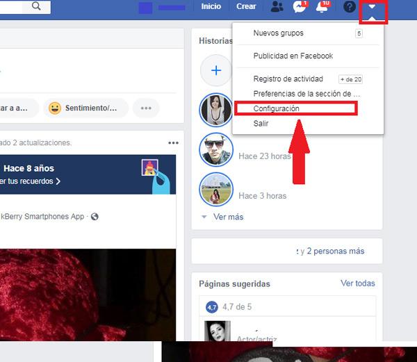 أدخل اسم المستخدم الخاص بك Facebook بلغات أخرى