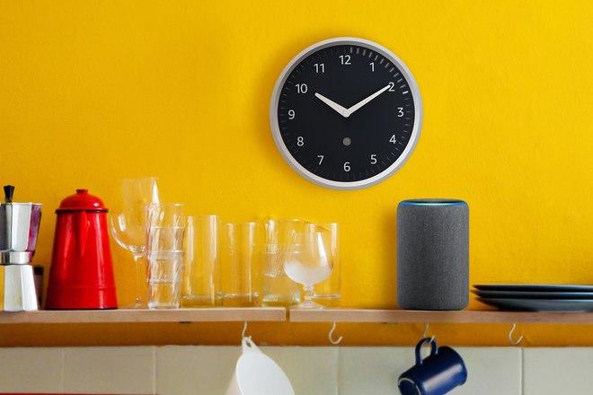 ال Amazon صدى ساعة الحائط متاحة الآن للشراء في المملكة المتحدة 1