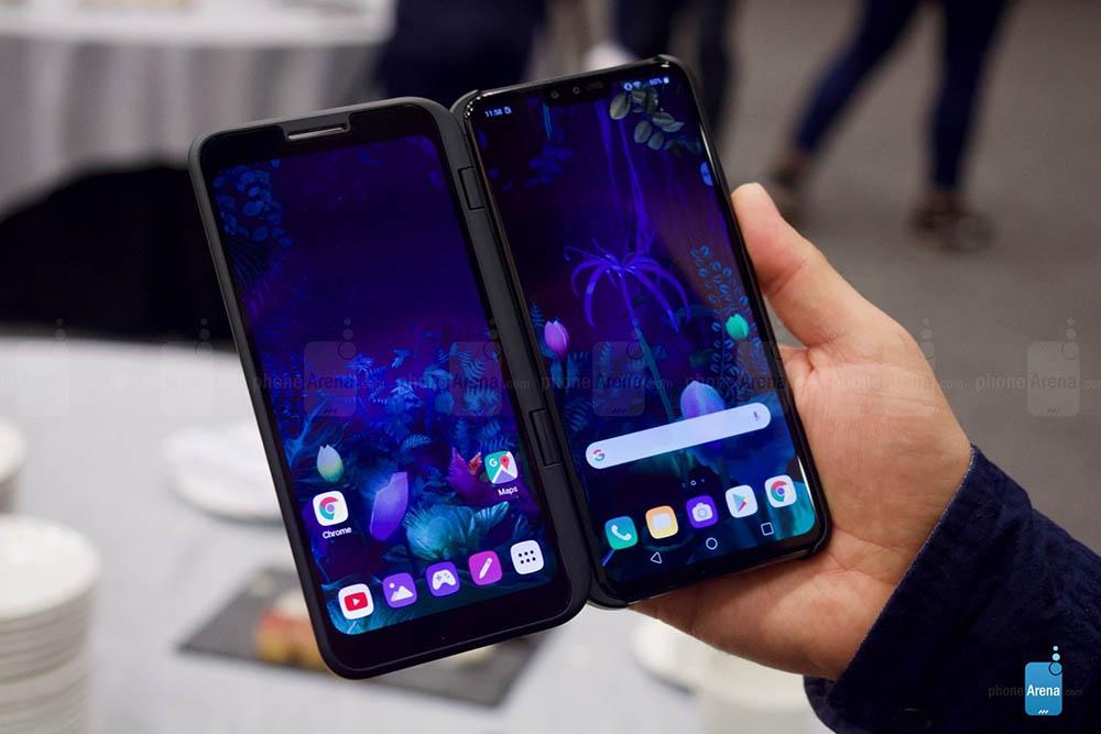 تؤكد LG وجود هاتف محمول جديد بشاشة مزدوجة ليوم 6 سبتمبر 1