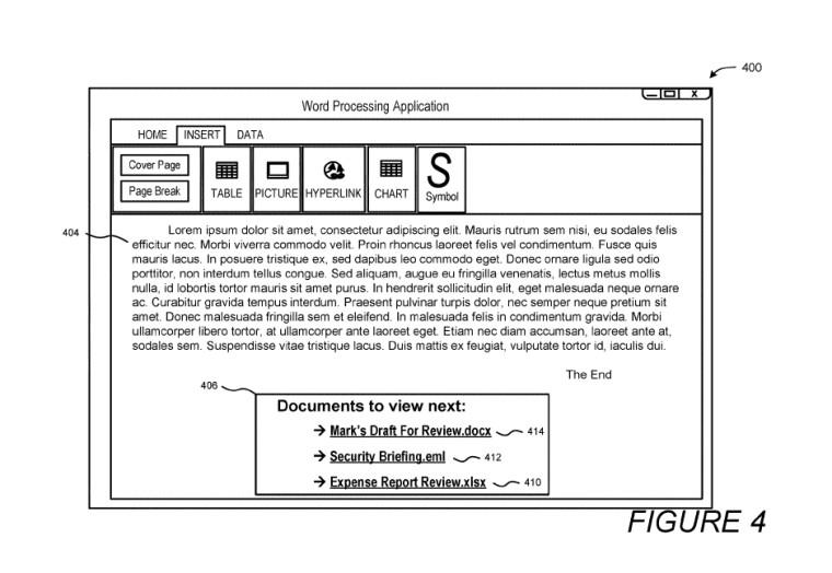 مايكروسوفت براءات الاختراع نظام استهداف ملف ذكي لتحسين مشاركة المستخدم 2