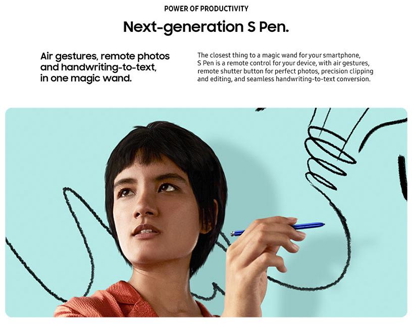 ال Note 10 و Note 10+ تظهر جنبًا إلى جنب في المواد التسويقية المسربة