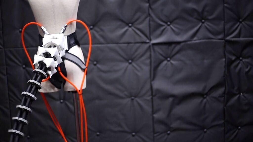 ذيل الروبوت الذي سوف يساعدك على تحقيق التوازن وتبدو غريبة 1