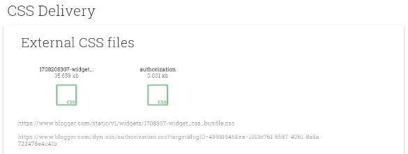 تسليم CSS