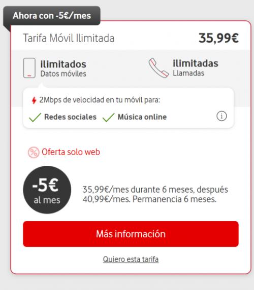 Image - تطلق فودافون خصومات على أسعارها غير المحدودة لمدة أسبوع واحد