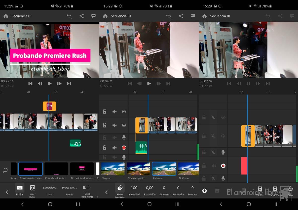 جربنا Adobe Premiere Rush ، محرر فيديو قوي وشيء حصري