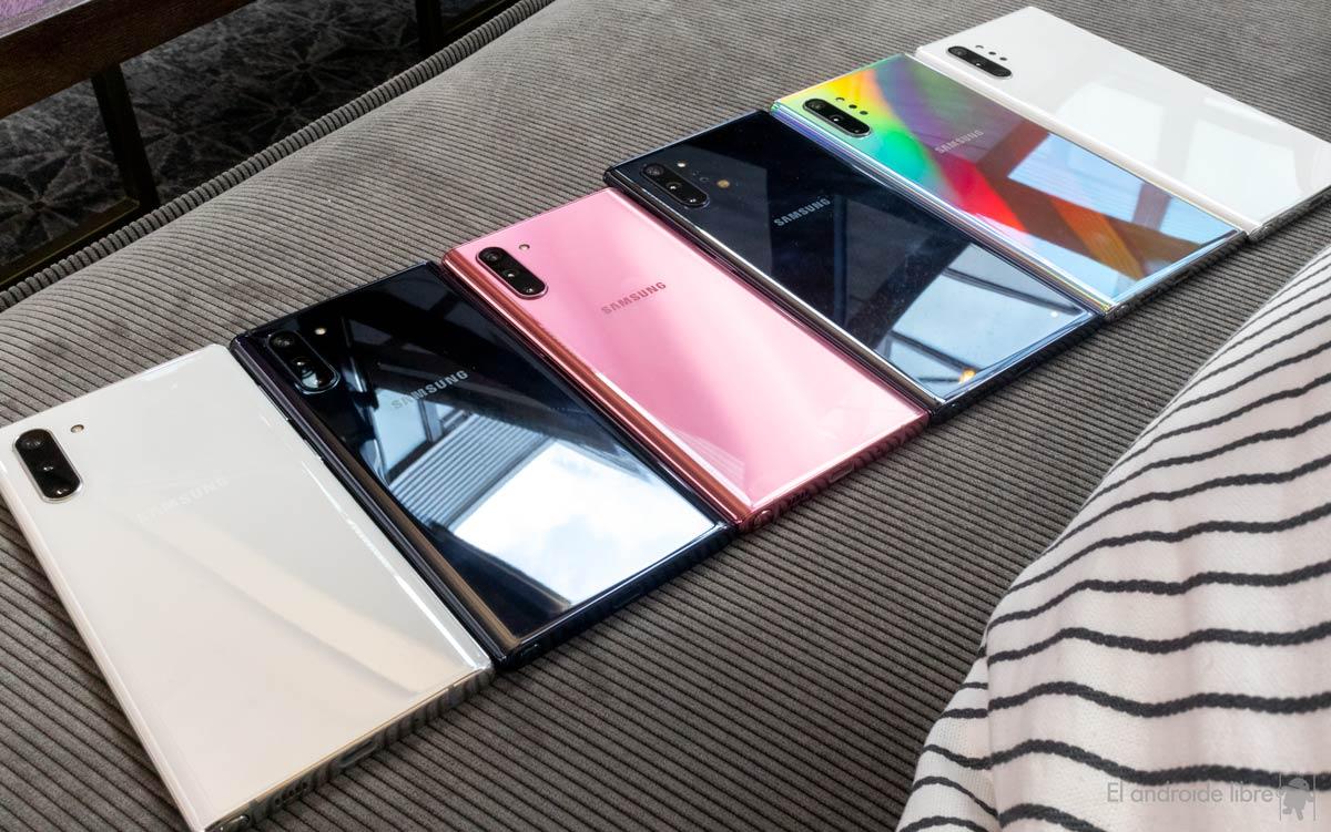 سامسونج Galaxy Note10 و Note10 +: أكثر هواتف Samsung احترافية 6