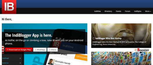 IndiBlogger - مجتمع المدون الهندي