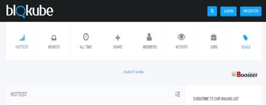 Blokube - مجتمع التدوين وشبكة التواصل الاجتماعي