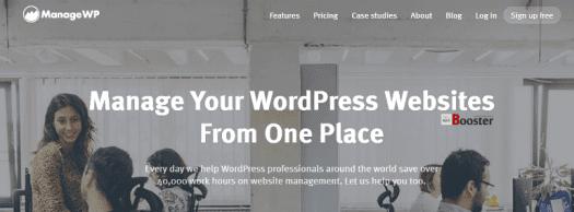 ManageWP - إدارة مواقع وورد