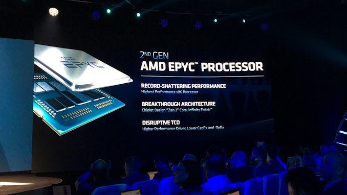 """إطلاق AMD 2nd Gen EPYC """"Rome"""" Live Blog 6"""
