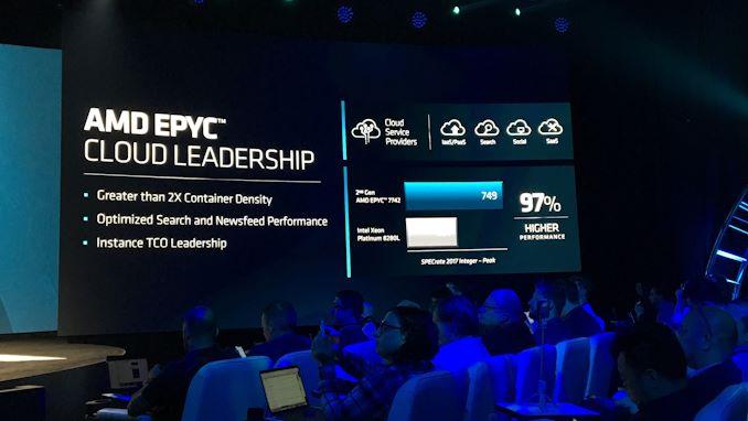 """إطلاق AMD 2nd Gen EPYC """"Rome"""" Live Blog 10"""