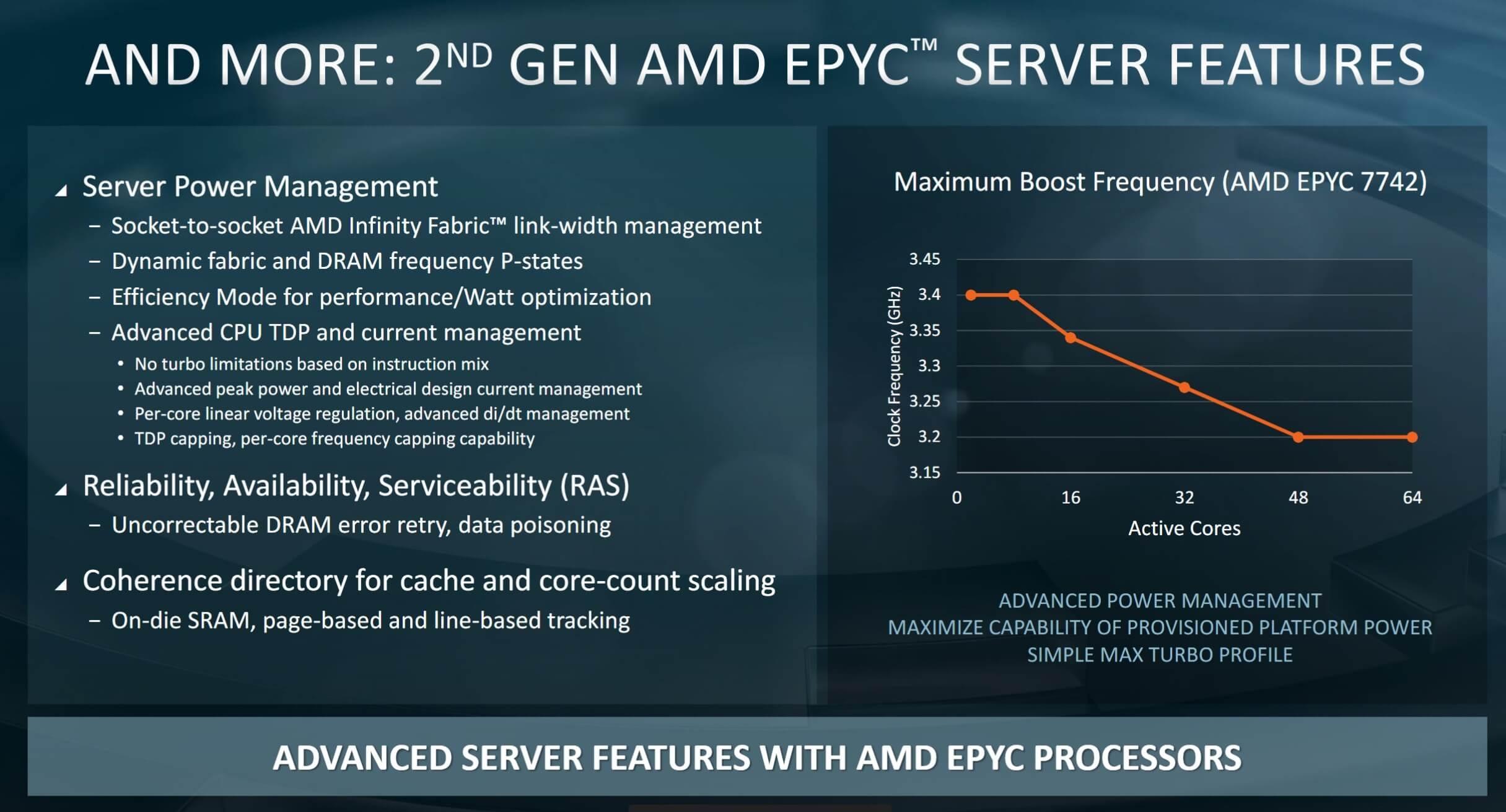 """أيه إم دي تكشف النقاب عن الجيل الثاني من وحدات المعالجة المركزية Epyc ، """"أسرع معالجات x86 في العالم"""" 4"""