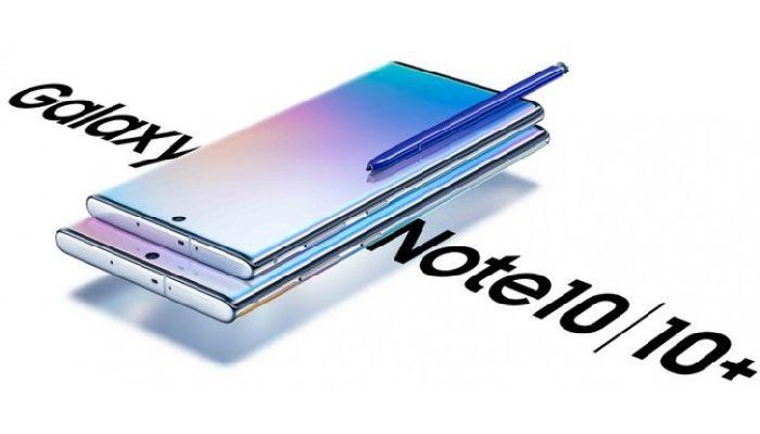 Ssamsung Galaxy Note  10+ و Note 10