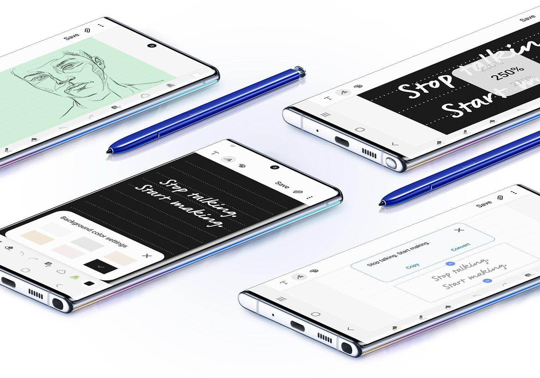 سامسونج Galaxy Note  10 و Note 10+ أطلقت في الهند ؛ السعر والمواصفات 1
