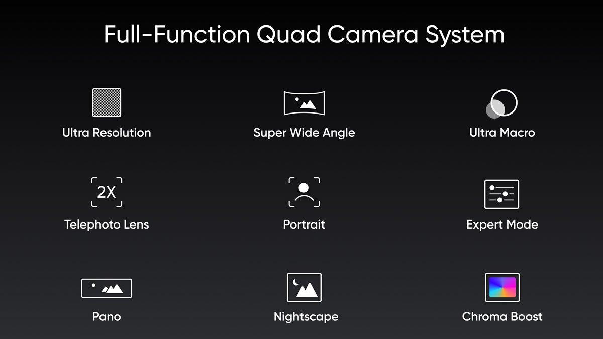 سلسلة Realme X و Realme Pro و Realme من الجيل التالي مزودة بكاميرات رباعية لإطلاقها قبل ديوالي 1