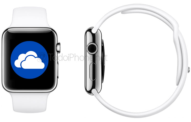 ال Apple Watch سيكون لديك أيضًا تطبيق Microsoft OneDrive 2