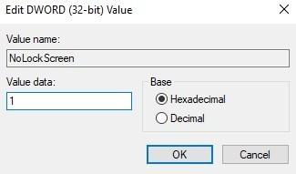 تحرير قيمة dword