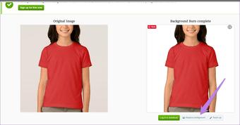 كيفية تغيير لون خلفية الصورة إلى الأبيض باستخدام محرر على