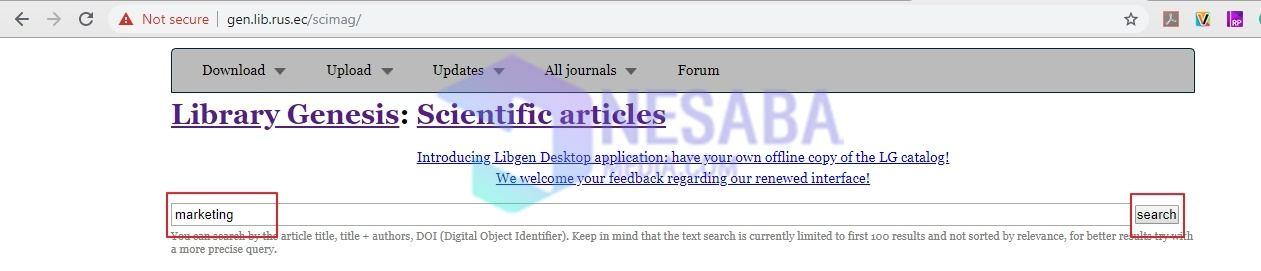2 طرق لتنزيل المجلات المجانية عبر الإنترنت ، من السهل جدًا! 1