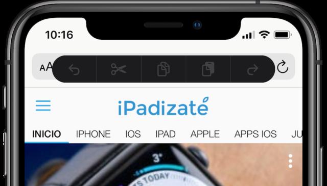 نسخ قائمة لصق iOS 13 beta