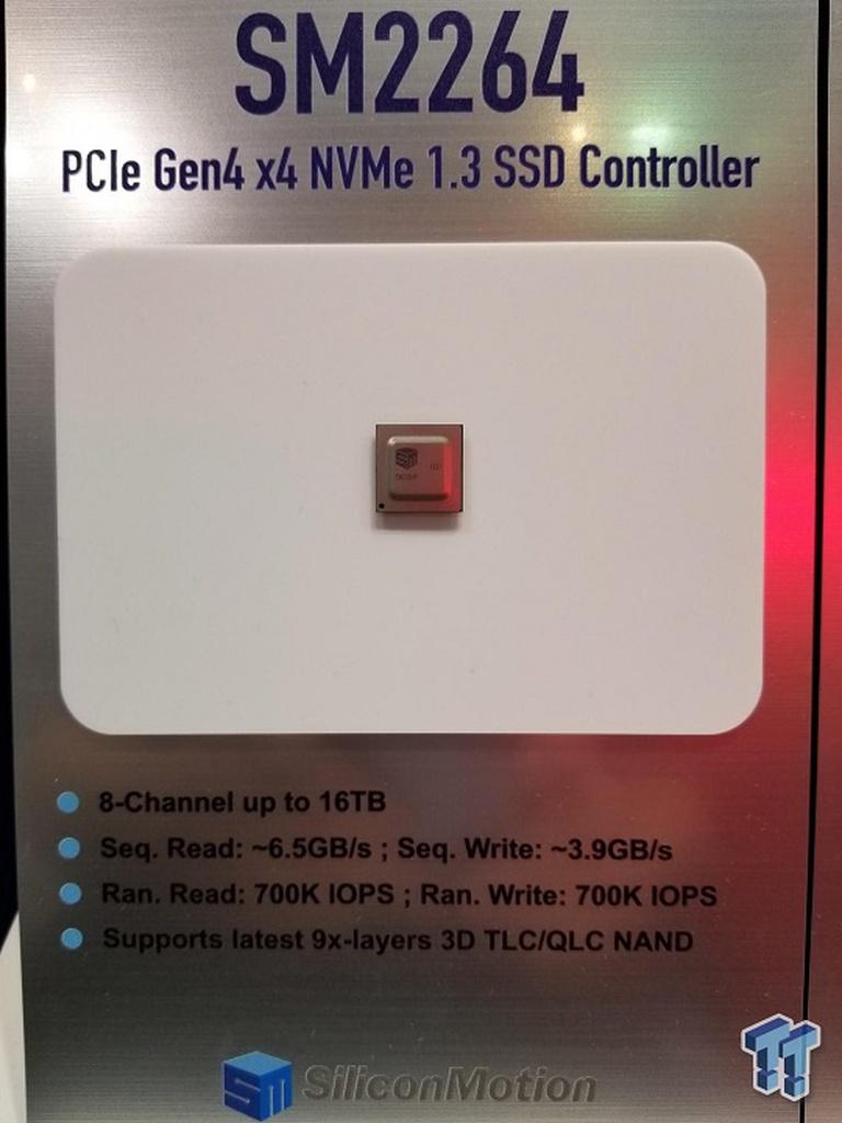 أعلنت شركة Phison and Silicon Motion عن وجود وحدات تحكم PCI-E 4.0 SSD جديدة 1