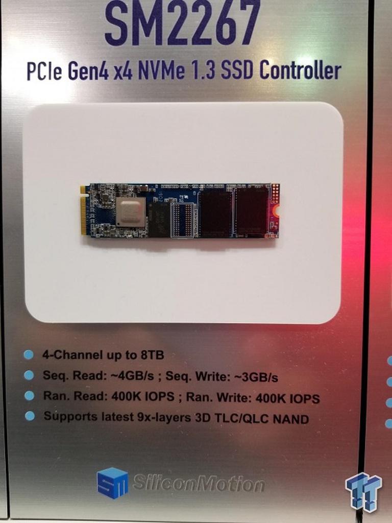 أعلنت شركة Phison and Silicon Motion عن وجود وحدات تحكم PCI-E 4.0 SSD جديدة 2