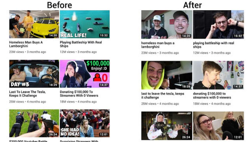 نقول وداعا لمنمنمات clickbait YouTube مع هذا التمديد 1