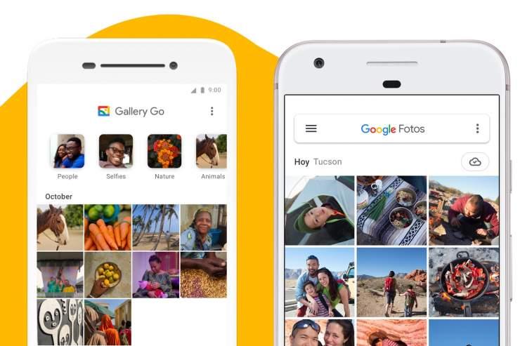 ما هو تطبيق Google Gallery Go 2