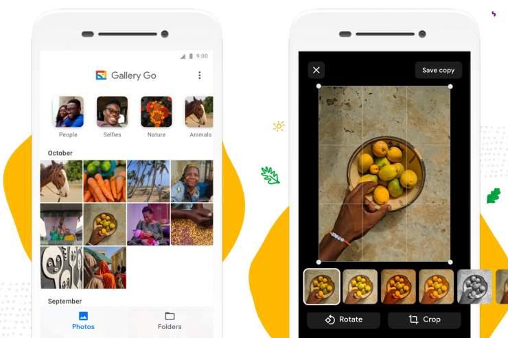 ما هو تطبيق Google Gallery Go 1