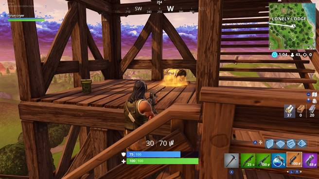 Fortnite Lonely Lodge Chest Locations - All Lonely Lodge Chest Sites 5