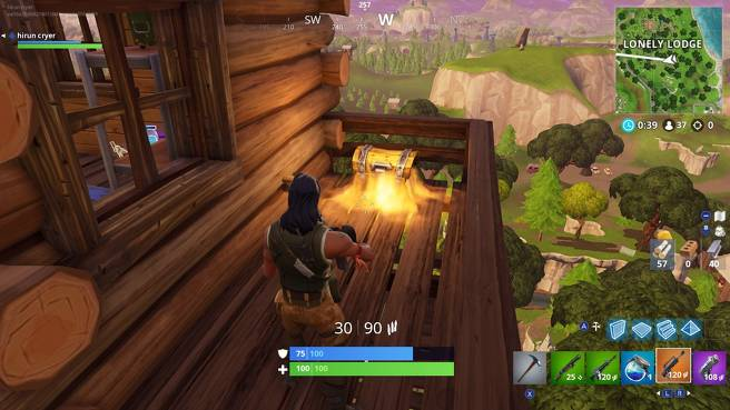 Fortnite Lonely Lodge Chest Locations - All Lonely Lodge Chest Sites 6