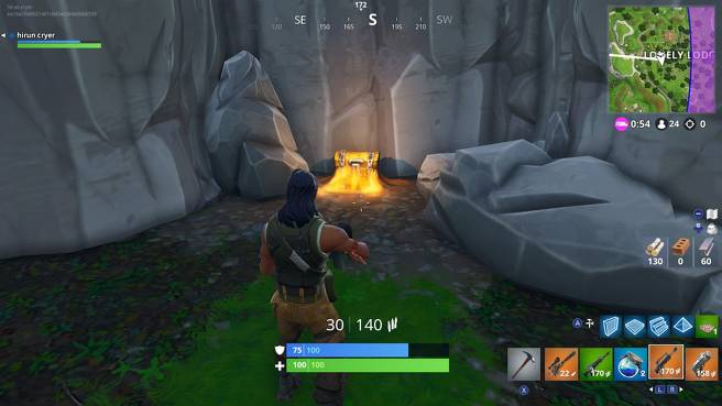 Fortnite Lonely Lodge Chest Locations - All Lonely Lodge Chest Sites 8