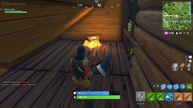 Fortnite Lonely Lodge Chest Locations - All Lonely Lodge Chest Sites 7