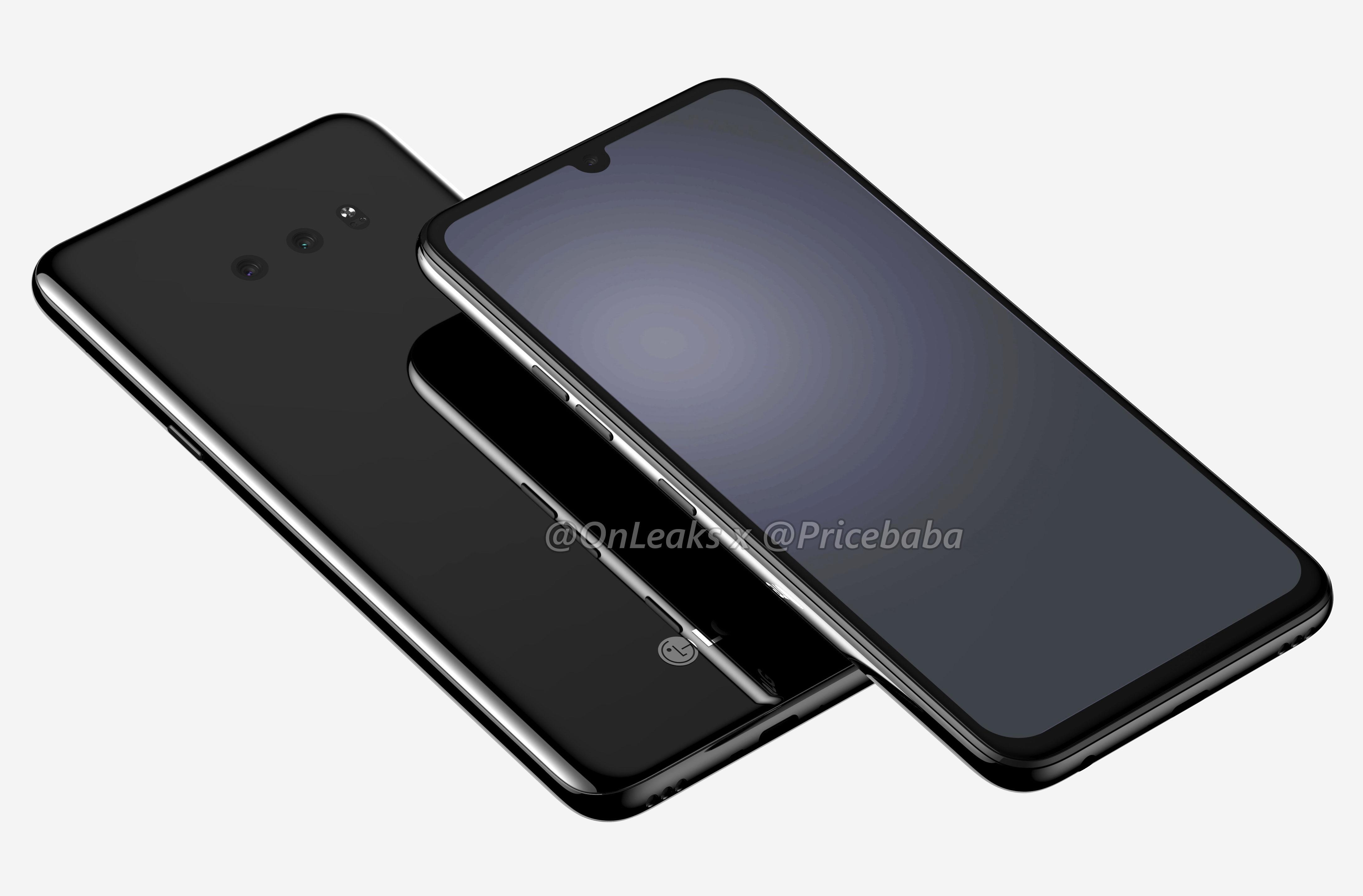 حصرياً: توضح شاشات LG G8X درجة الشلال المائي والكاميرات الخلفية المزدوجة ومقبس السماعة 3.5 ملم 4
