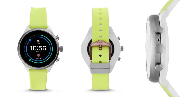 Fossil Sport ، ساعة رياضية ذكية مع WearOS و Snapdragon 3100