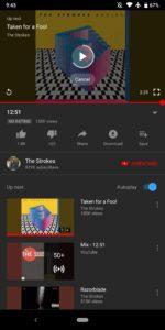 YouTubeواجهة المستخدم القديمة