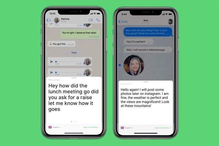 كيفية تحويل رسائل WhatsApp الصوتية إلى نص 2