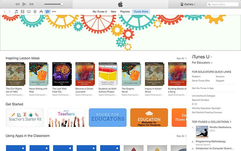 للمعلمين ، قسم App Store الجديد الذي يحتوي على موارد تعليمية للمعلمين والمعلمين 2