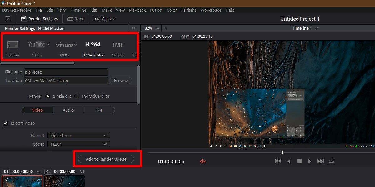 كيفية جعل صورة فيديو في الصورة على Windows 10 3