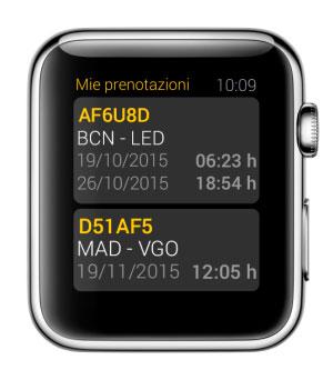 سوف Vueling أيضا إطلاق التطبيق تحديد الموقع الجغرافي ل Apple Watch 2