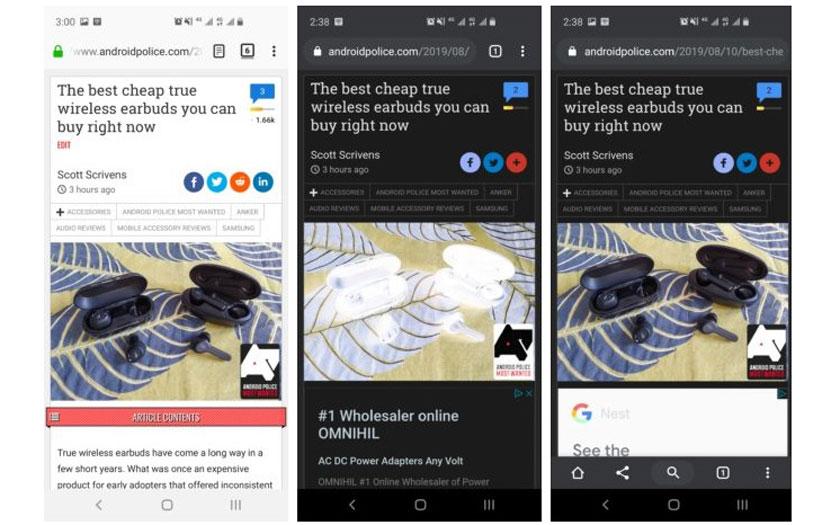 Chrome 77: الوضع المظلم المحسن والموضوعات المخصصة ، إليك الأخبار 3