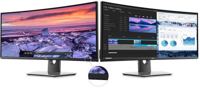 لمحة سريعة: مراجعة الشاشة المنحنية طراز UltraSharp U3419W من Dell 2