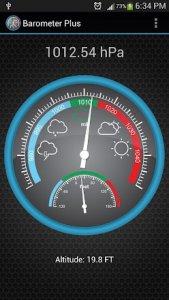 15 أفضل تطبيقات توقعات الضغط الجوي لأجهزة Android و iOS 1