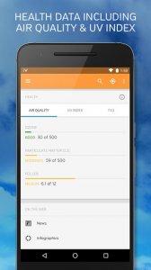 15 أفضل تطبيقات توقعات الضغط الجوي لأجهزة Android و iOS 12