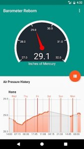 15 أفضل تطبيقات توقعات الضغط الجوي لأجهزة Android و iOS 17