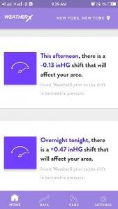 15 أفضل تطبيقات توقعات الضغط الجوي لأجهزة Android و iOS 30