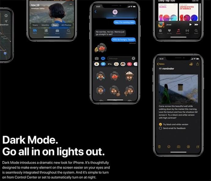 هل Apple الموسيقى لها وضع الظلام؟ 1