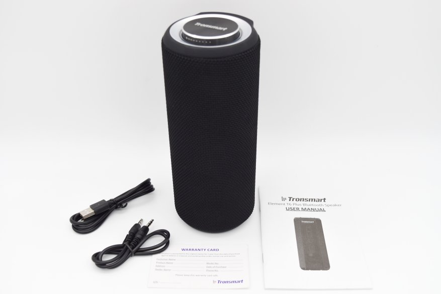 مكبر صوت لاسلكي Tronsmart T6 Plus: تصميم محدث ، عناصر تحكم محسنة ، لكن ... 3